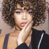 Cheveux court curly
