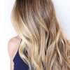 Cheveux long meche blonde