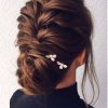 Coiffure gala cheveux long
