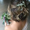 Coiffure mariage champetre cheveux courts