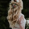 Coiffure mariage champetre cheveux long