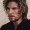 Coup cheveux long homme
