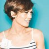 Coupe courte femme chatain