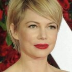 Coupe courte michelle williams