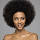 Afro coiffure femme