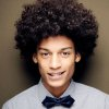 Cheveux afro homme