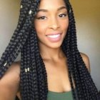 Cheveux afro tresse