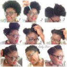 Coiffure africaine simple