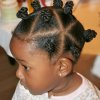 Coiffure fille afro