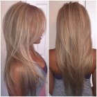 Degrade cheveux long photos