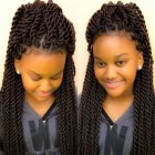 Les nattes coiffure africaine