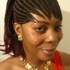 Model coiffure africaine femme