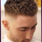 Cheveux court degrade homme