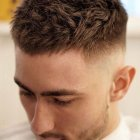 Coupe courte homme degrade