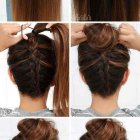 Tuto coiffure facile cheveux long